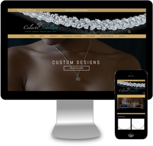 Celeste Jewelers Site Re-Design
