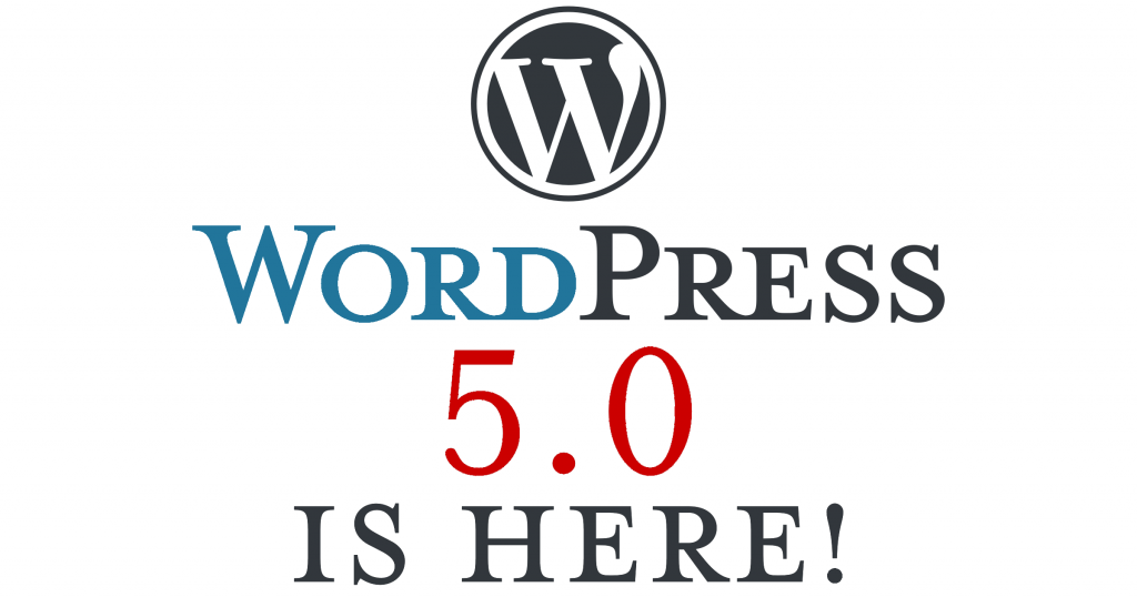 WordPress 5.0 Gutenberg is here